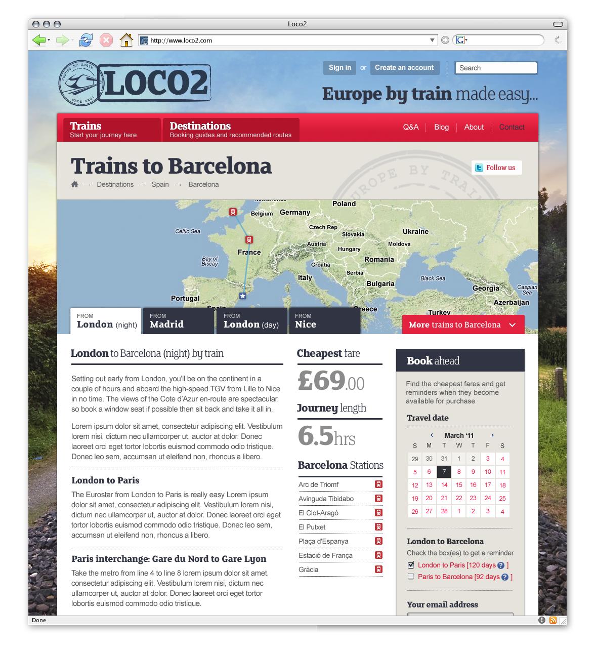 Loco2 destinations-detail