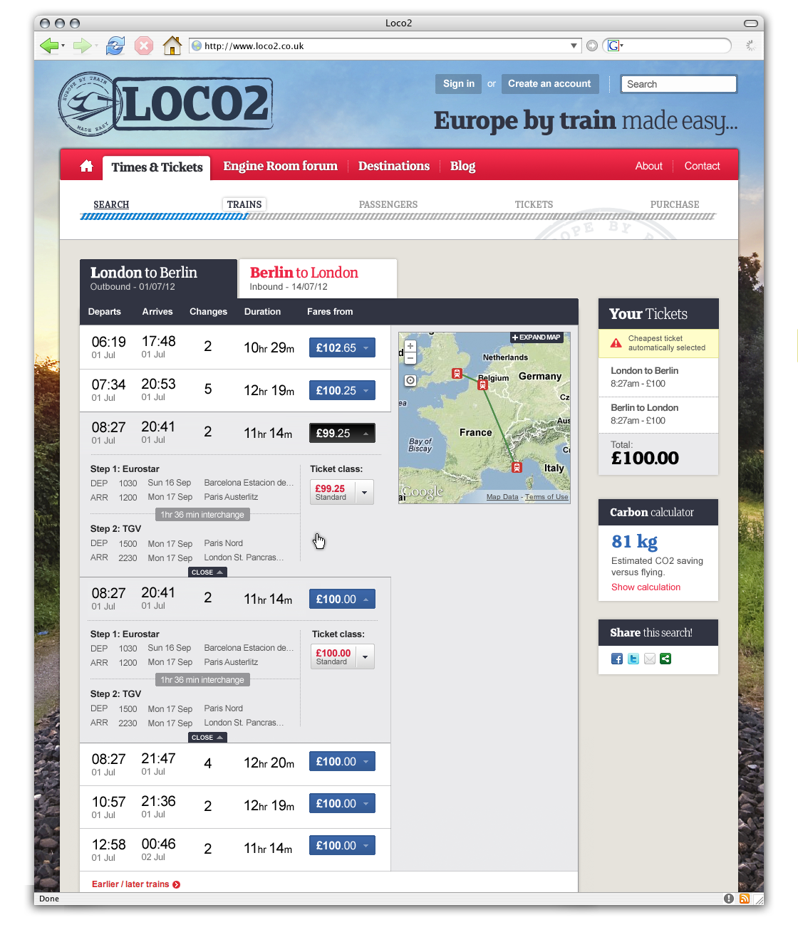 Loco2 trains multi