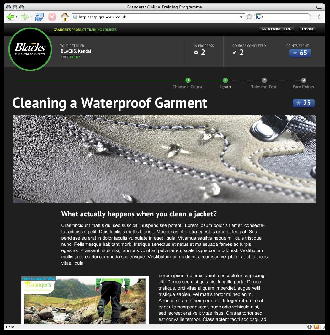 Online Training Programme Screenshot 3