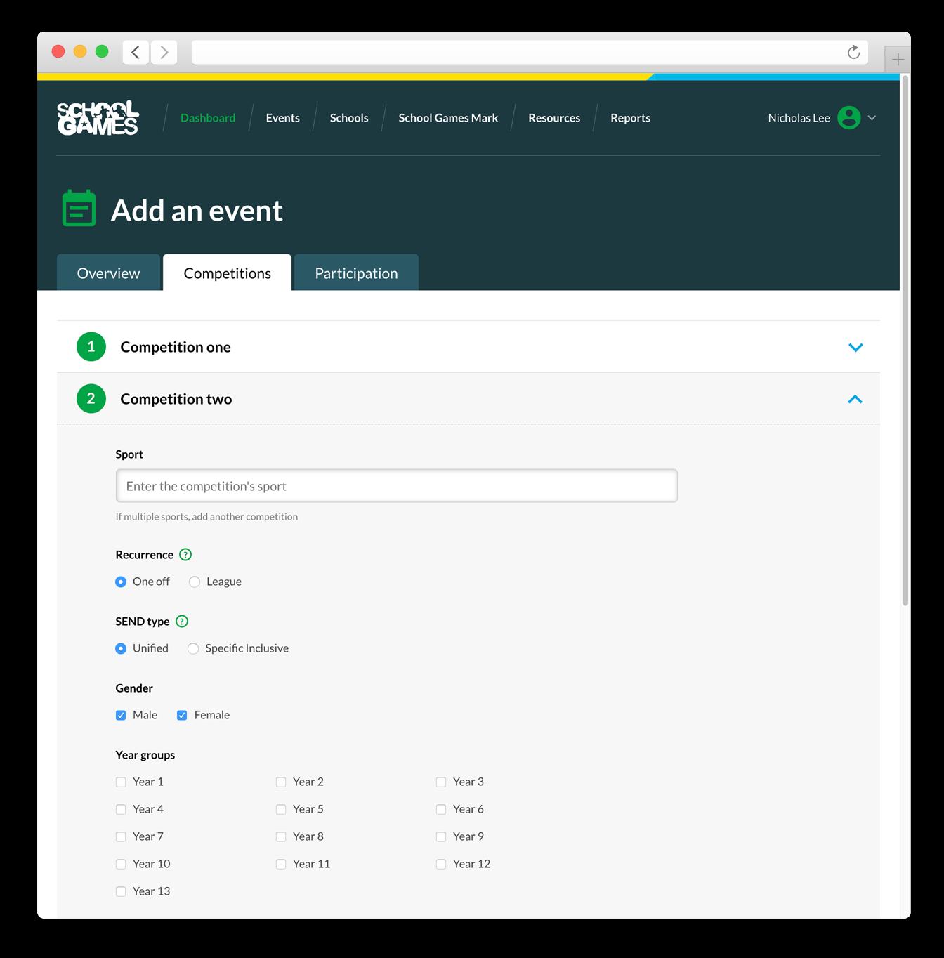 Yst add-event